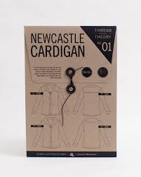 s sweater patterns newcastle cardigan s clothing pattern thread theory designs