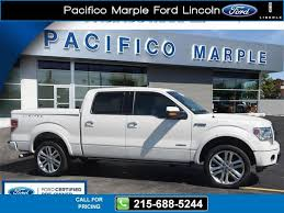 marple ford 2014 ford f 150 limited white 41 998 22215 215 688 5244
