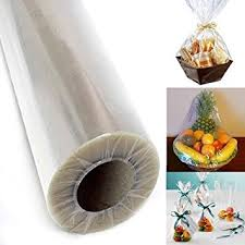 clear gift wrap adorox 30 inch 100 ft clear cellophane wrap roll gift