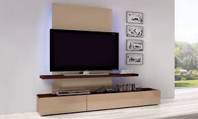 furniture modern flat screen tv0lift cabinet with brown