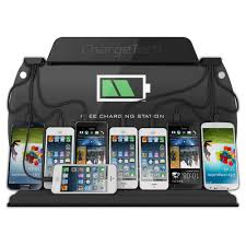 wall mount phone charging station for iphone chargetech