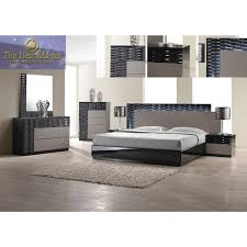Bedroom Sets With Media Chest Stanley Romania 4 Piece Bedroom Set In Black Lacquer Multiple Sizes By