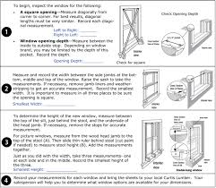 window measurements replacement window measuring instructions