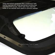 bmw 3 series convertible top 94 99 black twillfast ii cloth