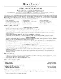 Project Coordinator Resume Example Wedding Planner Resume