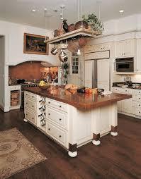 luxury copper backsplash island with marble countertop wooden