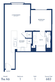 studio 1 2 bedroom apartments in hollywood ca the camden blueprint of a6 floor plan 1 bedroom and 1 bathroom at the camden apartments in