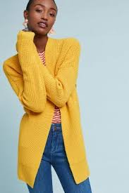 yellow sweater knitwear cardigans jumpers anthropologie