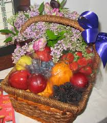 fruit flowers delivery the floral studio fruit and flowers arrangement