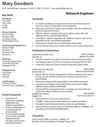 computer networking resume it administrator resume examples examples of resumes