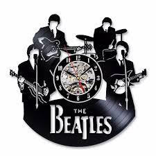 beatles home decor the beatles relogio de parede disco de vinil 820811