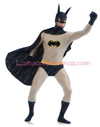 cheap black and grey lycra batman stage show spandex cosplay