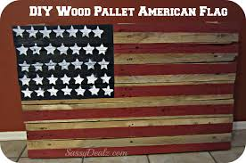 halloween yard flags diy how to make an american flag out of a wood pallet step by
