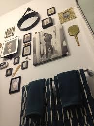 modern vintage hipster mens grooming bathroom decor home