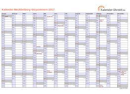 Kalender 2018 Feiertage Mv Feiertage 2017 Meck Pomm Kalender