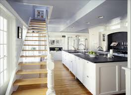 white kitchen cabinets with black granite countertops write teens