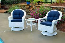 Best Outdoor Wicker Patio Furniture by Amazon Com Tortuga Outdoor Biloxi 3 Piece Swivel Patio Bistro