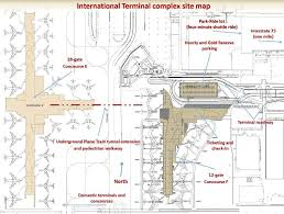 atlanta airport floor plan this is a site map for atlanta s new international terminal