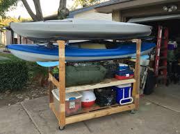 jeep kayak rack kayak rack from old pallets and scrap kayaking pinterest