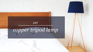 Super Mario Home Decor by Diy Copper Tripod Lamp The Sorry Girls Youtube