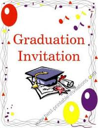 free printable graduation invitation