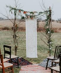 wedding arches branches 33 boho wedding arches altars and backdrops to rock weddingomania