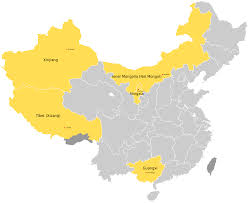 Show Me A Map Of China by Autonomous Regions Of China Wikipedia