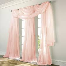 Beige And Pink Curtains Decorating Sheer Curtains Decorating Mellanie Design