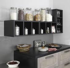 cuisine avec etagere rangement cuisine déco mural pratique côté maison