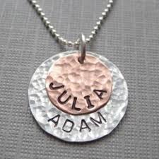 mothers day jewelry personalized jc jewelry design s day sted jewelry handmade