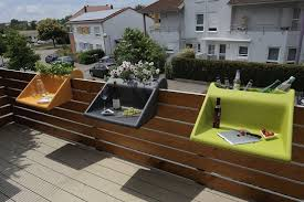 gartenmã bel kleiner balkon pvblik geländer decor balkon