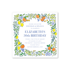 unique hand designed birthday party invitations for adults