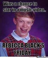 Rebecca Meme Images - rebecca black by irisjane meme center