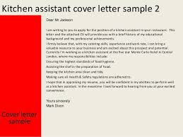 example cover letter kitchen hand how to write an academic cv