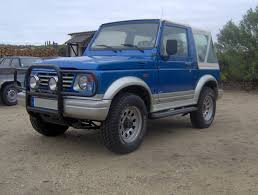 suzuki samurai rock crawler the