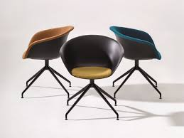 Arper Logo by Duna 02 Chair With Casters By Arper Design Lievore Altherr Molina