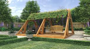 Swing Arbor Plans Wooden Garden Arbors U2013 Satuska Co