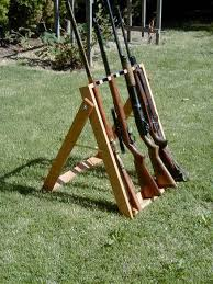 Make Your Own Gun Cabinet Rack U0027em Great Idea For Shooting On Your Property But A Portable