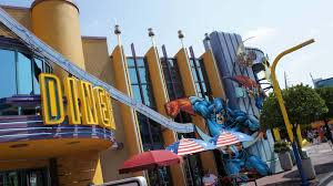 Map Of Islands Of Adventure Orlando by Captain America Diner Quick Service At Universal U0027s Islands Of