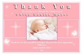 10 personalised christening baptism thankyou photo cards n154