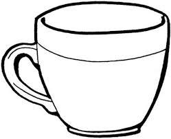 Cup Coloring Pages coloring pages cups teacup coloring page coloring
