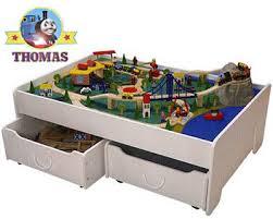 thomas the tank activity table thomas train sets on thomas tank under the bed trundle train