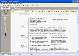 Microsoft Resume Maker Free Resume Maker Software Resume Template And Professional Resume