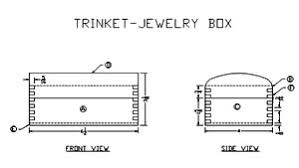Wooden Jewellery Box Plans Free by How To Make A Small Wooden Jewelry Box Plans Diy Free Download