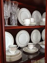 how to display china in a cabinet tips on how to arrange a china cabinet average but inspired