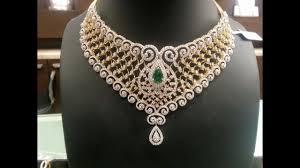 designer diamond sets top 75 diamond choker indian necklace designs