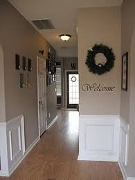 paint to make a narrow hallway wider for the home pinterest