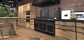 cuisine avec piano de cuisson delightful cuisine orange et grise 6 cuisine avec piano cuisine