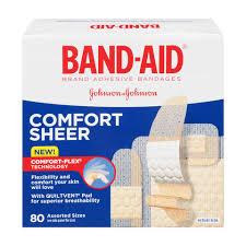 B And Q Kitchen Design Service Band Aid Sheer Comfort Sheer Adhesive Bandages Assorted Walgreens