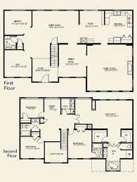 4 bedroom floor plan two story house plans lovely 4 bedroom floor plans 2 story design